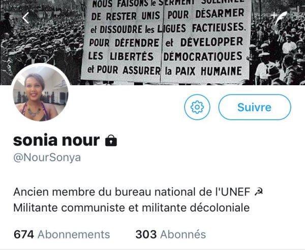 L'« Affaire Sonia Nour » : le FakeNews de la fachosphère, reprise par le gouvernement, contre la gauche et Mélenchon.
