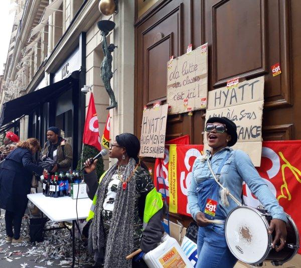 Soutien à la Grève Hyatt Vendôme : non à la sous-traitance !