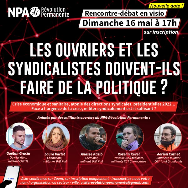 Rencontre syndicalistes